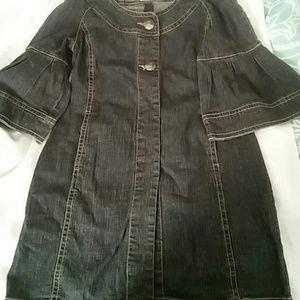 Jean Short Dress