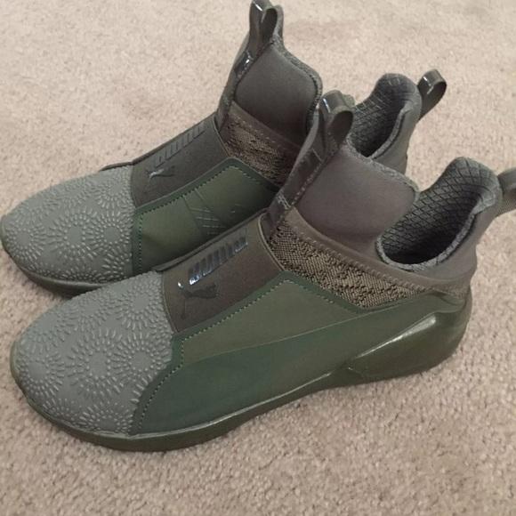 Puma Fierce Olive Green NEW Size 8 c965c69f7