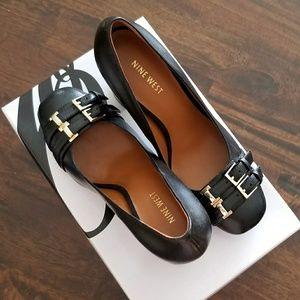 New in Box Black Nine West Heels 9.5