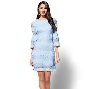 Brand New NY&CO TEXTURED LACE SHIFT DRESS