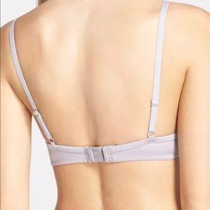 3e9231d983 DKNYC Intimates   Sleepwear - NWT DKNY Fusion Plunge Push Up Bra 32B silver  silk