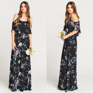 Show Me Your Mumu Caitlin Ruffle Floral Maxi Dress