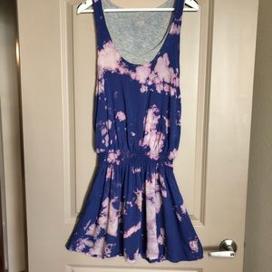 RARE Splendid Tie dye tank dress