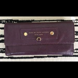 Marc by Marc Jacobs Preppy Leather Long Wallet