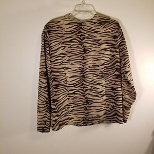 Jones New York long sleeve blouse