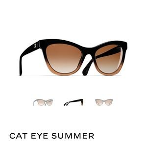 Auth Chanel Summer Cat Eye sunglasses $475 current