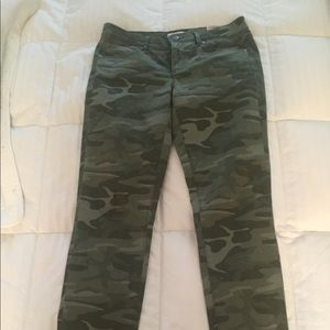 Loft Skinny Camo Jeans