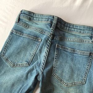 Free People Cropped Skinny Jeans, 25