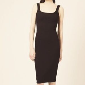 Zara Bodycon Midi Tank Dress
