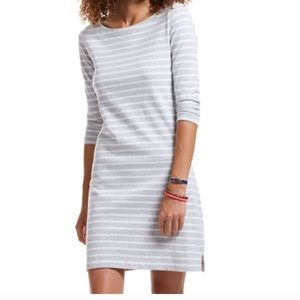 Vineyard vines cotton stripe knit dress