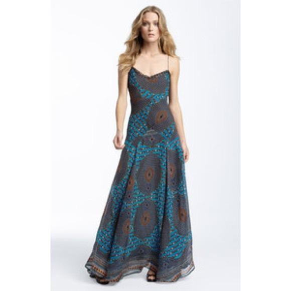 2f11672fb75f0 Winter Kate Damien Vintage Silk Maxi Dress. M_5a130200f0928208cc0dc83d