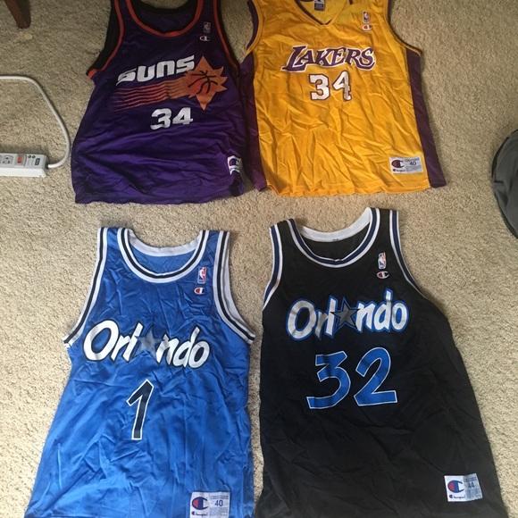 Champion Other - Champion Vintage NBA Jerseys (Sizes 40-44) cdbe666bb