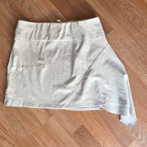 Free People velvety skirt