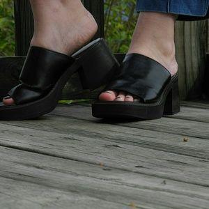 90s slide on shoes 