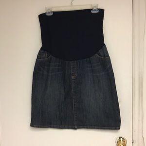 Dresses & Skirts - Maternity denim skirt