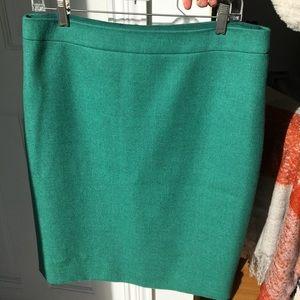 Wool Jcrew Pencil Skirt