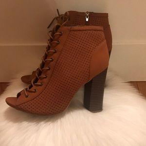 Light brown booties!