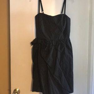 Torrid polka dot bow dress 16