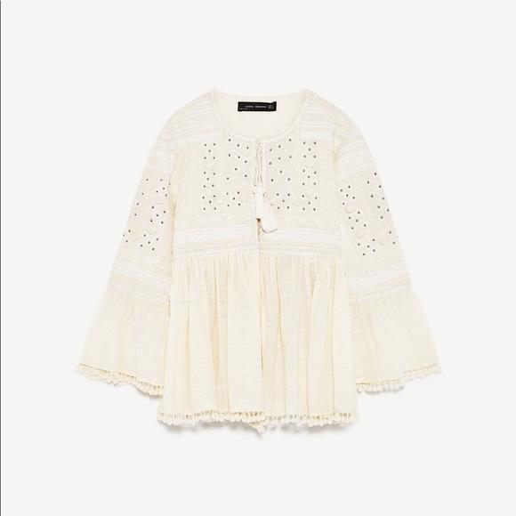 Zara Jackets Coats In Embroidered Jacket Poshmark