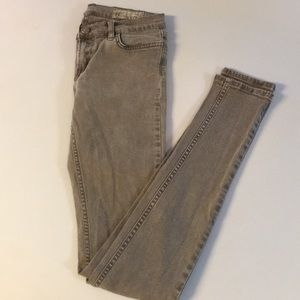 All Saints gray skinny jeans