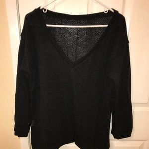 Sweaters - Oversized V neck comfy sweater
