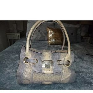 Authentic Jimmy Choo 2 way python handbag