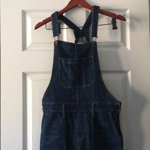 Old navy flared overalls