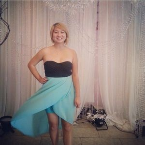 Light Blue Windsor Dress