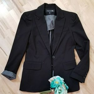 Forever21 Black Blazer
