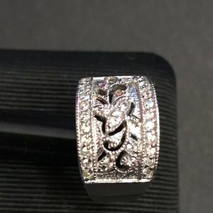 Jewelry - Sterling Silver and CZ Women's Ring Size 7