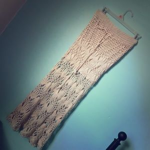Other - Crochet Maxi/Midi Skirt