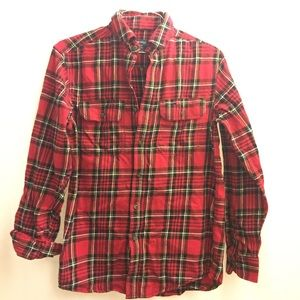 Red flannel shirt!
