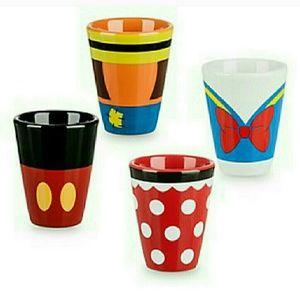 Disney Ceramic Shot Glass Set