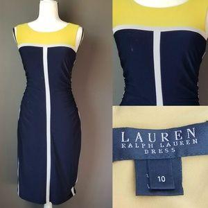 LAUREN Ralph Lauren Color Block Dress