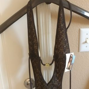 Victoria's Secret one piece bathing suite size M
