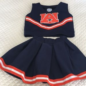 Other - Auburn Girls Cheerleading Outfit 2T/3T