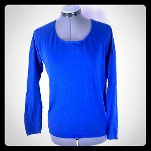 GAP Violet Blue Long Sleeve Top