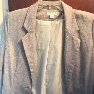 Gray Cotton On Blazer