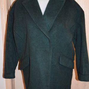 Brand new Banana Republic green cocoon coat