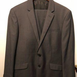 Men's Grey Kenneth Cole Reaction Suit