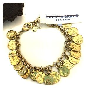Lucky Brand Buried Treasure Gold Bracelet