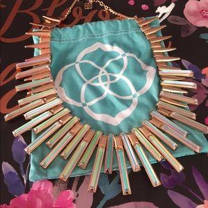 Kendra Scott Kaplan Necklace in Rose Gold