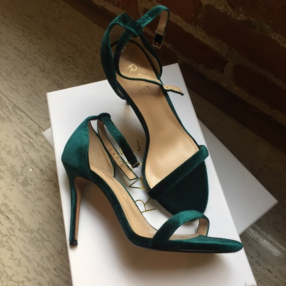 290cbcc77c1 RAYE THE LABEL  never been worn  velvet heels