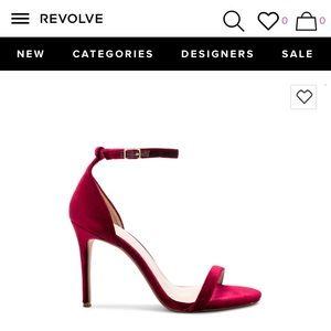 12488423a79 RAYE Shoes - RAYE THE LABEL  never been worn  velvet heels