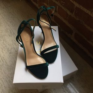 48d9e4a696be RAYE Shoes - RAYE THE LABEL  never been worn  velvet heels