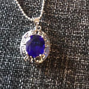 925 Silver Greek Necklace