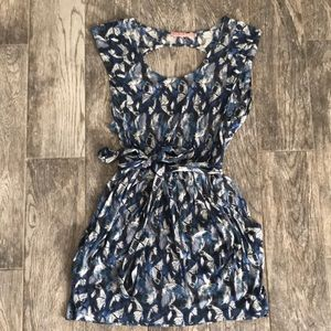 Juicy couture blue butterfly dress