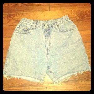 Levi's Vintage Cut-off Jean Shorts