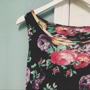 ••Floral Mini Dress••