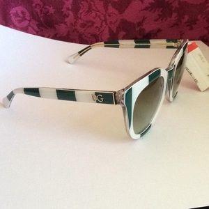 Dolce & Gabbana - NWT! Striped Sunglasses DG4249